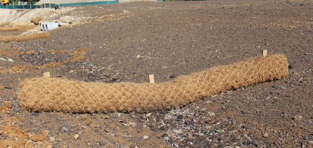 Coir Log Supply and Installation NSW Central Coast Sydney Newcastle